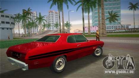 Dodge Dart Demon 340 1971 für GTA Vice City linke Ansicht