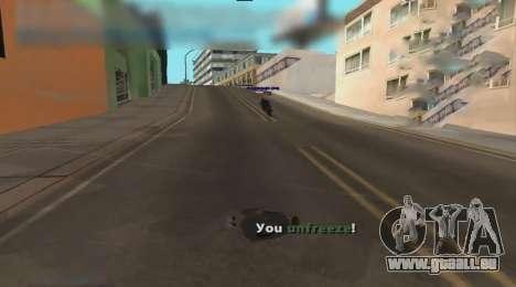 Unfreeze pour GTA San Andreas troisième écran