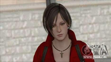 Ada Wong v1 für GTA San Andreas dritten Screenshot