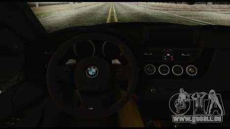 BMW Z4 sDrive28i 2012 pour GTA San Andreas sur la vue arrière gauche