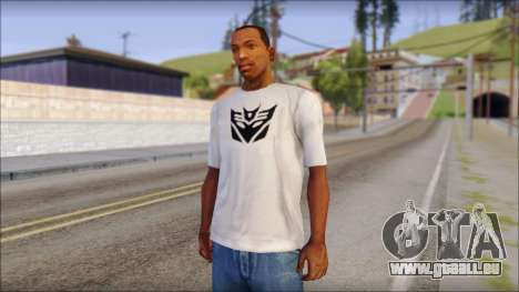 Decepticon T-Shirt für GTA San Andreas