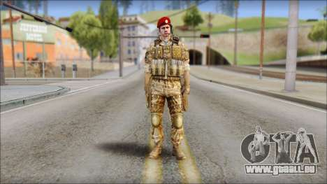 Desert Vlad GRU from Soldier Front 2 pour GTA San Andreas
