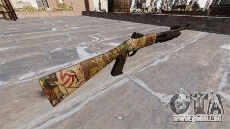 Ружье Benelli M3 Super 90 ronin pour GTA 4 secondes d'écran