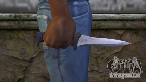 Knife from Resident Evil 6 v1 pour GTA San Andreas troisième écran