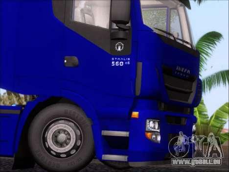 Iveco Stralis HiWay 560 e6 4x2 pour GTA San Andreas