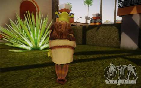 Shrek pour GTA San Andreas deuxième écran