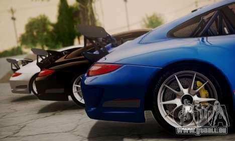 Porsche 911 GT3 RS4.0 2011 für GTA San Andreas Rückansicht
