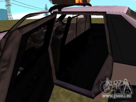 Police Original Cruiser v.4 pour GTA San Andreas moteur