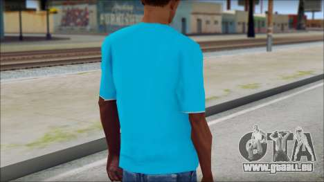 Go hard or Go home Shirt für GTA San Andreas zweiten Screenshot
