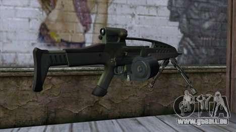 XM8 LMG Olive pour GTA San Andreas deuxième écran