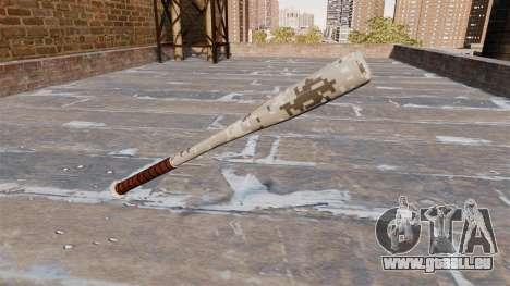 Batte de Baseball Camo P001 pour GTA 4 secondes d'écran
