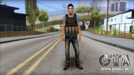Skin Civil v1 pour GTA San Andreas deuxième écran