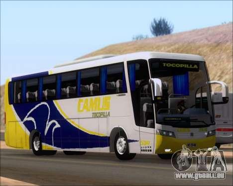 Busscar Vissta Buss LO Mercedes Benz 0-500RS für GTA San Andreas linke Ansicht