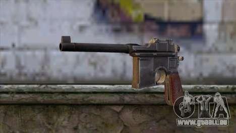 Mauser C-96 pour GTA San Andreas