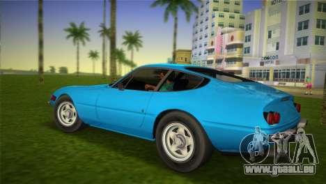 Ferrari 365 GTB pour une vue GTA Vice City de la gauche