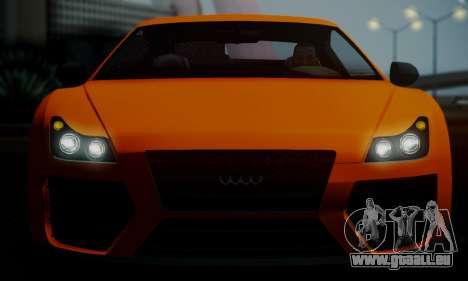 Obey 9F V.1 pour GTA San Andreas vue intérieure