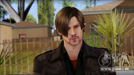 Leon Kennedy from Resident Evil 6 v2 pour GTA San Andreas troisième écran