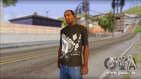 Volcom T-Shirt für GTA San Andreas