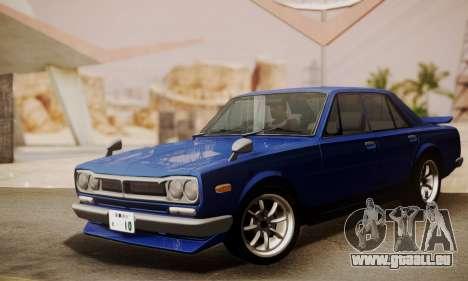 Nissan Skyline GC10 2000GT für GTA San Andreas