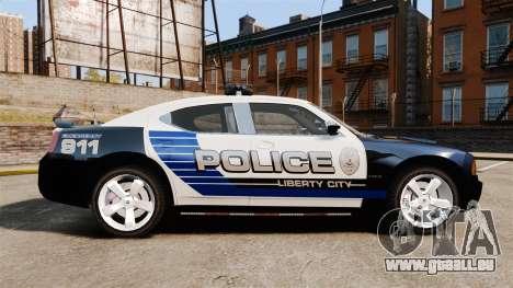 Dodge Charger SRT8 2010 [ELS] für GTA 4 linke Ansicht