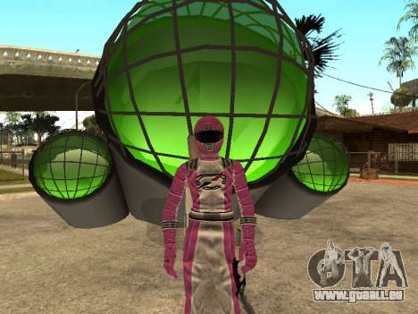 Power Rangers Operation Overdrive für GTA San Andreas neunten Screenshot