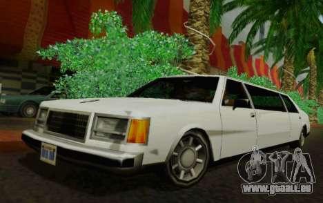 Washington Limousine für GTA San Andreas