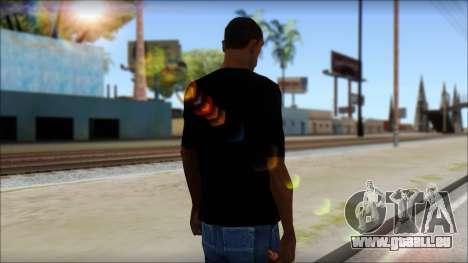Evil T-Shirt pour GTA San Andreas deuxième écran