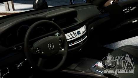 Mercedes-Benz S65 W221 AMG v1.3 pour GTA 4 est un côté