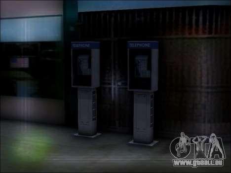 Rue de téléphone pour GTA San Andreas sixième écran