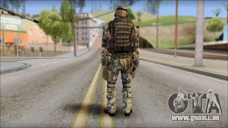 Nima GROM from Soldier Front 2 pour GTA San Andreas deuxième écran