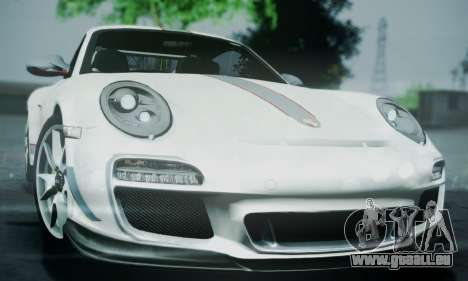 Porsche 911 GT3 RS4.0 2011 pour GTA San Andreas vue de côté
