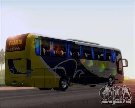Busscar Vissta Buss LO Mercedes Benz 0-500RS für GTA San Andreas zurück linke Ansicht