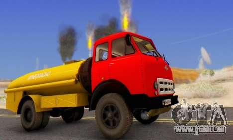 MAZ 500A Bowser pour GTA San Andreas laissé vue