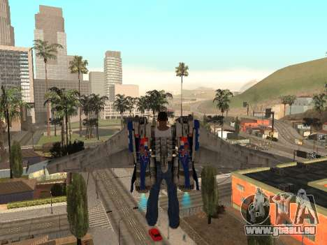 Optimus Jetpack für GTA San Andreas