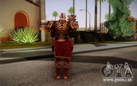 Kratos God Armor pour GTA San Andreas deuxième écran