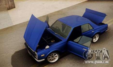Nissan Skyline GC10 2000GT für GTA San Andreas rechten Ansicht