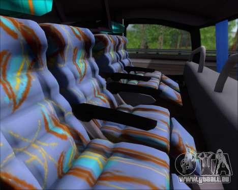 Busscar Jum Buss 400 Volvo B10R Pullman Del Sur pour GTA San Andreas vue intérieure
