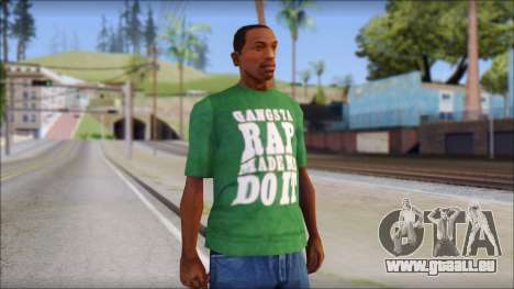 Ice Cube T-Shirt für GTA San Andreas