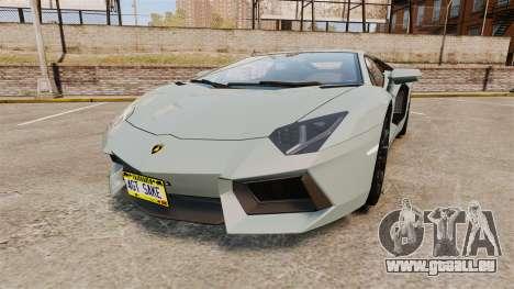 Lamborghini Aventador LP700-4 v2 [RIV] pour GTA 4