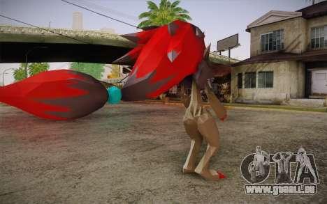 Zoroark from Pokemon pour GTA San Andreas deuxième écran