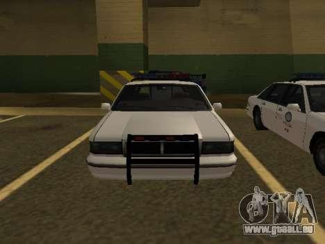 Police Original Cruiser v.4 pour GTA San Andreas vue de droite