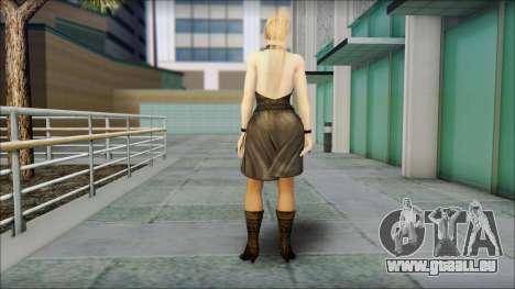 Sarah from Dead or Alive 5 v3 pour GTA San Andreas deuxième écran