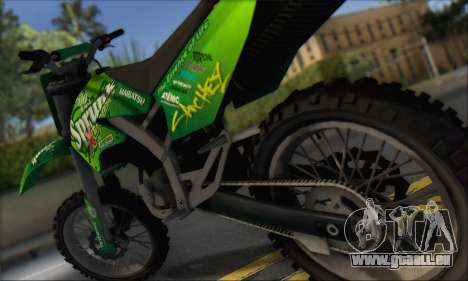 Sanchez From GTA V pour GTA San Andreas vue de droite