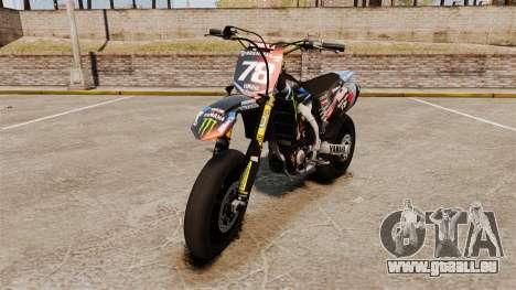 Yamaha YZF-450 v1.18 pour GTA 4