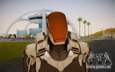 Iron Man Gemini Armor pour GTA San Andreas troisième écran
