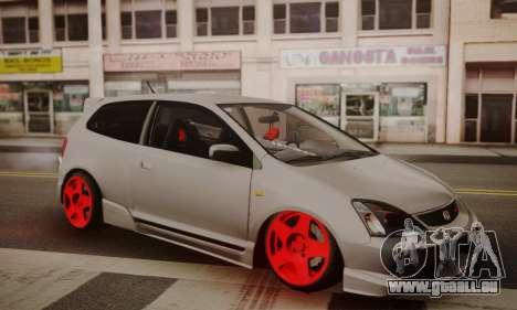 Honda Civic TypeR für GTA San Andreas