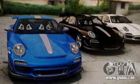 Porsche 911 GT3 RS4.0 2011 pour GTA San Andreas vue de droite