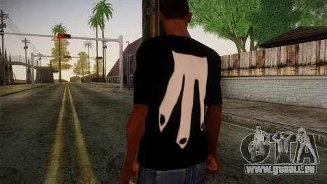 Shirt Madafaka pour GTA San Andreas deuxième écran