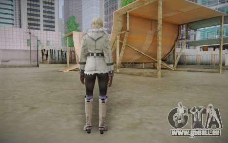 Sherry Birkin Europa from Resident Evil 6 pour GTA San Andreas deuxième écran