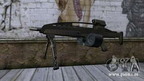 XM8 LMG Olive pour GTA San Andreas